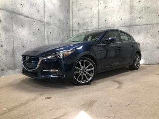Used 2018 Mazda MAZDA3 Sport GT CUIR TOIT OUVRANT HEADS UP CAMERA GPS for sale in St-Nicolas, QC