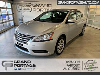 Used 2015 Nissan Sentra S CVT A/C for sale in Rivière-Du-Loup, QC