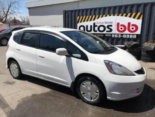 Used 2011 Honda Fit for sale in Laval, QC