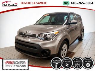 Used 2018 Kia Soul LX* AT* BLUETOOTH* GROUPE ELECTRIQUE* for sale in Québec, QC
