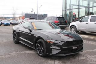 Used 2019 Ford Mustang COUPÉ EcoBoost CAMÉRA*MAIN LIBRE*ROUES D for sale in Lévis, QC