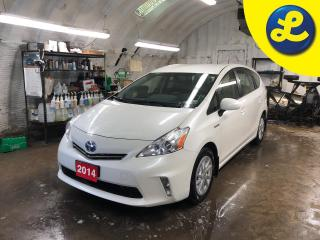 Used 2014 Toyota Prius V Hybrid Electric Motor * Leather Heated Seats * Back Up Camera * 4-Wheel ABS * Rear Door Child Safety Locks * Stability Control * Traction Control * Em for sale in Cambridge, ON