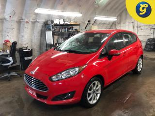 Used 2014 Ford Fiesta Microsoft Sync * Phone Connect  * Touch Screen LCD Display * Radio w/Seek-Scan, Clock, Speed Compensated Volume Control and Radio Data System * Cruise for sale in Cambridge, ON
