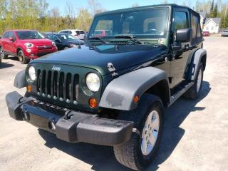 Used 2011 Jeep Wrangler SPORT 4X4 CLIMATISEUR *100% APPROUVÉ* for sale in Mirabel, QC