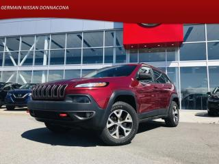 Used 2016 Jeep Cherokee 4WD TRAILHAWK  *** GARANTIE PROLONGÉ !!! *** for sale in Donnacona, QC