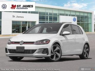 New 2019 Volkswagen Golf GTI Autobahn for sale in Winnipeg, MB