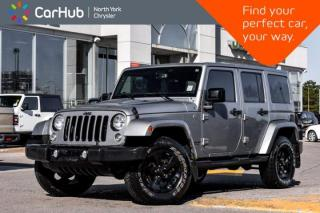 Used 2015 Jeep Wrangler Unlimited Wrangler X ALPINE Sound.Nav.Bluetooth.Remote Start.Heat Seats for sale in Thornhill, ON