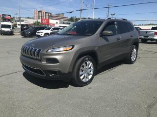 Used 2016 Jeep Cherokee Limited 4X4 for sale in Sherbrooke, QC