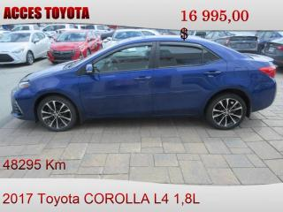 Used 2017 Toyota Corolla Se toit ouvrant for sale in Rouyn-Noranda, QC