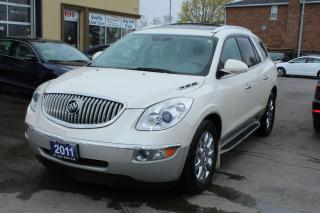 Used 2011 Buick Enclave CXL Leather Pano Roof for sale in Brampton, ON