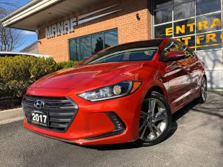 Used 2017 Hyundai Elantra Limited Avail Sunroof Rear Cam Heated Seats Cert* for sale in Concord, ON