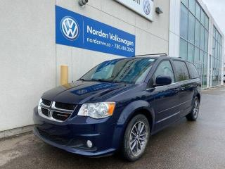 Used 2017 Dodge Grand Caravan SXT PREMIUM PLUS - LEATHER / LOADED for sale in Edmonton, AB
