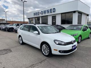 Used 2014 Volkswagen Golf Wagon WOLFSBURG EDITION for sale in Brantford, ON