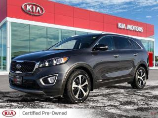 Used 2018 Kia Sorento EX V6 *Certified Pre-Owned!* for sale in Winnipeg, MB