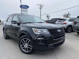 Used 2018 Ford Explorer Sport Toit ouvrant GPS for sale in St-Eustache, QC