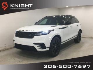 Used 2018 Land Rover Range Rover Velar R-Dynamic SE Diesel   Leather   Panoramic Sunroof   Navigation for sale in Regina, SK