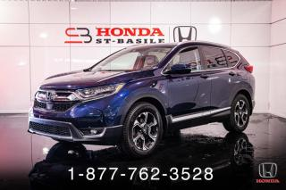 Used 2018 Honda CR-V TOURING + AWD + CUIR + PROPRE + WOW! for sale in St-Basile-le-Grand, QC