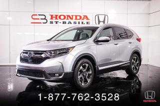 Used 2017 Honda CR-V TOURING + AWD + CUIR + PROPRE + WOW! for sale in St-Basile-le-Grand, QC