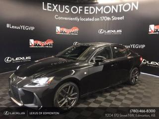 Used 2020 Lexus IS 350 Blackline Edition for sale in Edmonton, AB