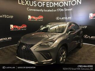 Used 2020 Lexus NX 300 F Sport Series 3 for sale in Edmonton, AB