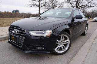 Used 2013 Audi A4 PREMIUM PACKAGE / NO ACCIDENTS / LOCALLY OWNED for sale in Etobicoke, ON