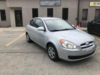 Used 2009 Hyundai Accent ONE OWNER,SERVICE RECORDS !CERTIFIED..LOW KM's !! for sale in Burlington, ON