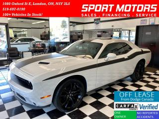 Used 2018 Dodge Challenger SXT Plus+Sunroof+Camera+New Tires+Cooled Seats for sale in London, ON