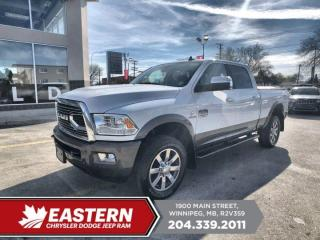 Used 2018 RAM 2500 Longhorn | 1 Owner | No Accidents | Remote Start | for sale in Winnipeg, MB