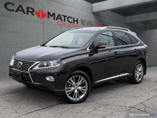 Used 2014 Lexus RX 350 NAV / NO ACCIDNETS / LOADED for sale in Cambridge, ON