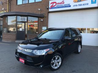 Used 2014 Mitsubishi Outlander 7SEATER-BLUETOOTH-BACKUPCAMERA-SUNROOF*CERTIFIED* for sale in York, ON