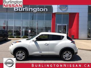 Used 2016 Nissan Juke SV, AWD, ACCIDENT FREE, 1 OWNER, BRAND NEW BRAKES for sale in Burlington, ON