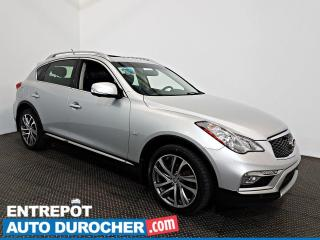 Used 2016 Infiniti QX50 AWD NAVIGATION - Toit Ouvrant - A/C - Cuir for sale in Laval, QC