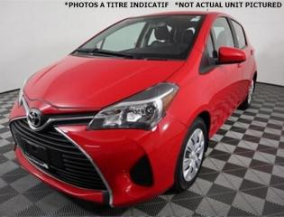 Used 2015 Toyota Yaris LE 1.5L *A/C *Gr.Electric *27 000 km !! for sale in Saint-Hubert, QC