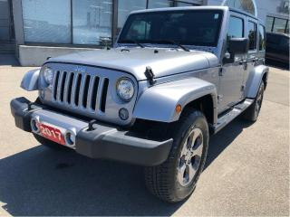 Used 2017 Jeep Wrangler Unlimited Sahara w/Navi, Remote Start, Heated Seats, Tow Pac for sale in Hamilton, ON