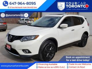 Used 2014 Nissan Rogue AWD SV for sale in North York, ON