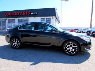 Used 2017 Buick Regal Turbo AWD CAMERA BLUETOOTH LEATHER CERTIFIED for sale in Milton, ON
