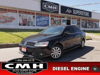 Used 2013 Volkswagen Jetta Highline  DIESEL NAV LEATH ROOF HS for sale in St. Catharines, ON