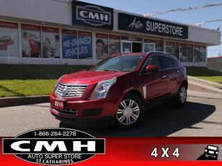 Used 2016 Cadillac SRX Luxury  AWD NAV PANO CUE P/GATE LD CW BS for sale in St. Catharines, ON