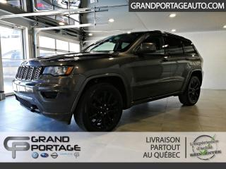 Used 2018 Jeep Grand Cherokee Altitude IV 4x4 *Disponibilité limitée* for sale in Rivière-Du-Loup, QC