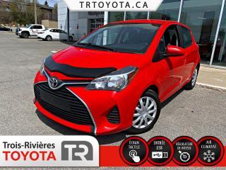 Used 2015 Toyota Yaris Hayon 5 portes, boîte automatique, LE for sale in Trois-Rivières, QC