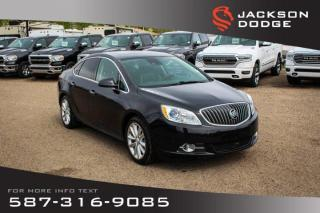 Used 2014 Buick Verano Premium - NAV, Sunroof, Leather for sale in Medicine Hat, AB