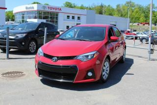 Used 2015 Toyota Corolla Berline 4 portes CVT S for sale in Shawinigan, QC