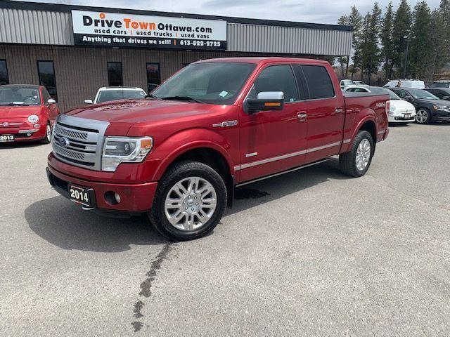 2014 Ford F-150 PLATINUM CREW CAB 4X4  **90 Days no Payments**