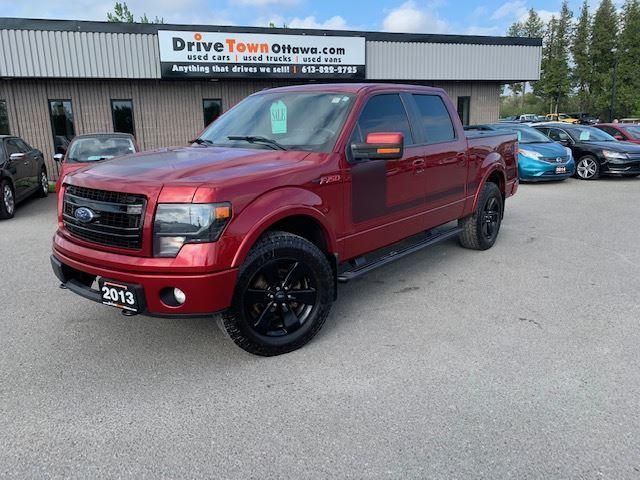 2013 Ford F-150 FX4 CREW CAB 4X4 **LUXURY PACKAGE**
