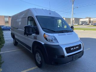 Used 2019 RAM Cargo Van ProMaster 3500 HighRoof I Back up I Glass back door for sale in Toronto, ON