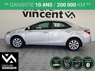 Used 2016 Toyota Corolla LE ** GARANTIE 10 ANS ** Fiabilité, sécurité, espace, tout pour plaire! for sale in Shawinigan, QC