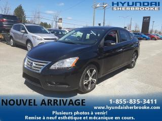 Used 2013 Nissan Sentra SL+CUIR+GPS+TOIT+CAMERA+SYSTEME BOSE for sale in Sherbrooke, QC
