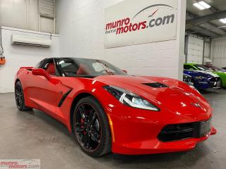 Used 2018 Chevrolet Corvette SOLD SOLD SOLD Stingray Z51 2LT NAV HUD NPP 7SPD for sale in St. George Brant, ON