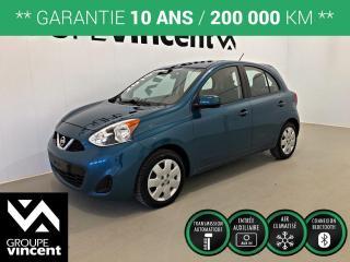 Used 2015 Nissan Micra SV CLIMATISEUR ** GARANTIE 10 ANS ** Abordable et économique! for sale in Shawinigan, QC