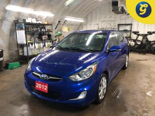 Used 2012 Hyundai Accent Sunroof * Hatchback * Eco-Mode * Sirius XM/BT/MP3/Usb/CD * Hands free calling * Steering Wheel Controls * Cruise Control * Power Mirrors/ Power Window for sale in Cambridge, ON